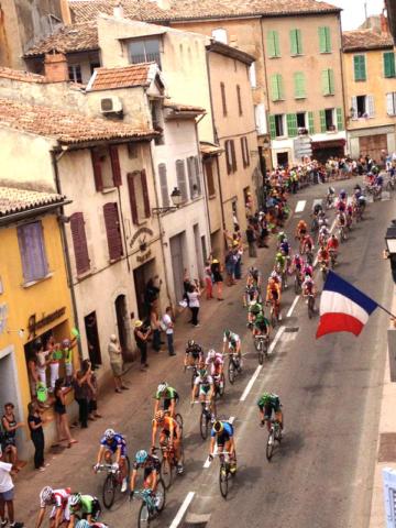 Level 2 Kitchen Window View of Tour de France