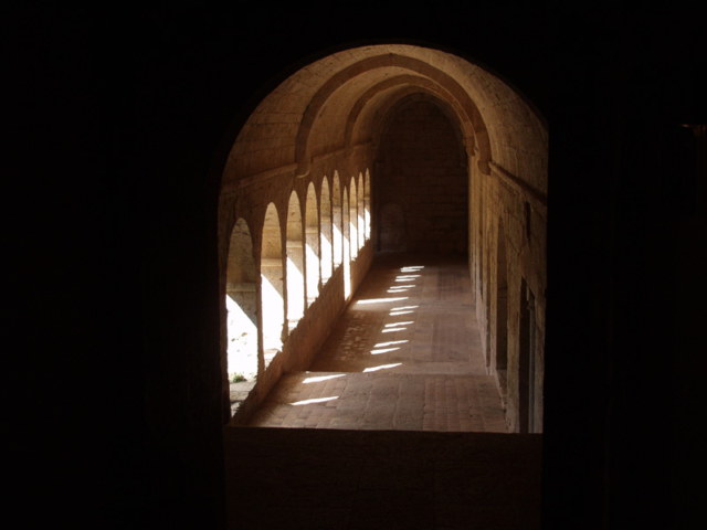 The Abbaye de Thoronet, centuries old, is just a few minutes' drive.