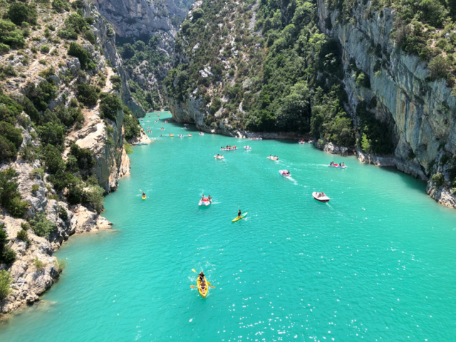 The Gorges de Verdon is just an hours' drive away.